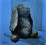 Bertie by Matthew Hickey, Painting, Oil on canvas