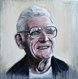 Uncle Jim by Matthew Hickey, Painting, Oil on canvas
